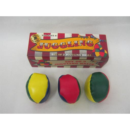 New Retro Games Traditional Juggling Balls Set Of 3 RFS10226