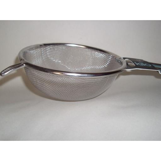 New Kilo Flour Icing Sugar Chocolate Sieve Stainless Steel 18CM J91
