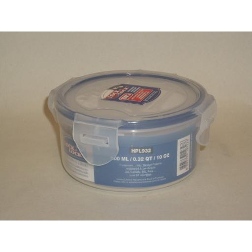 New Lock and & Lock Round 300ML Food Container HPL932