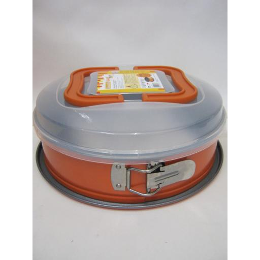 New Guardini BakeAway Spring Form Round Cake Tin 26cm 10inch With Carry Case
