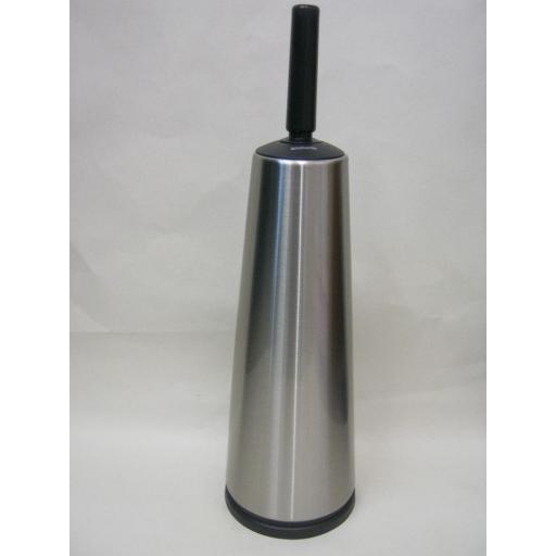 New Brabantia Toilet Loo Brush And Holder Matt Brushed Stainless Steel