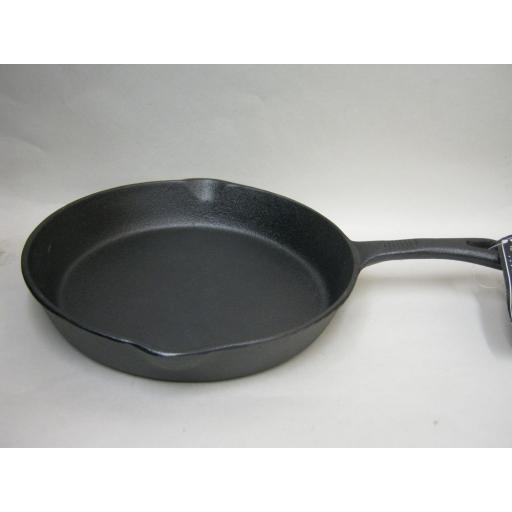 """New Victor Round Frying Fry Pan Skillet Cast Iron 10"""" 26cm"""