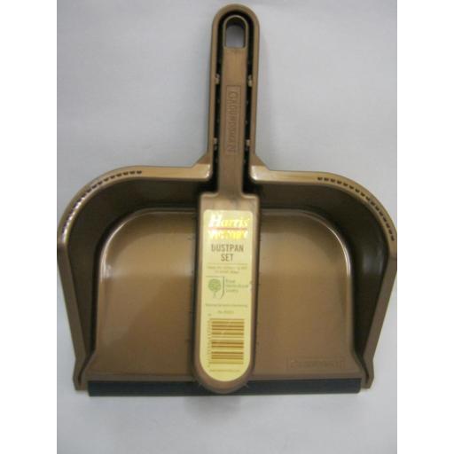 New Groundsman Stiff Bristle Nylon Hand Brush Dustpan Set PA99301