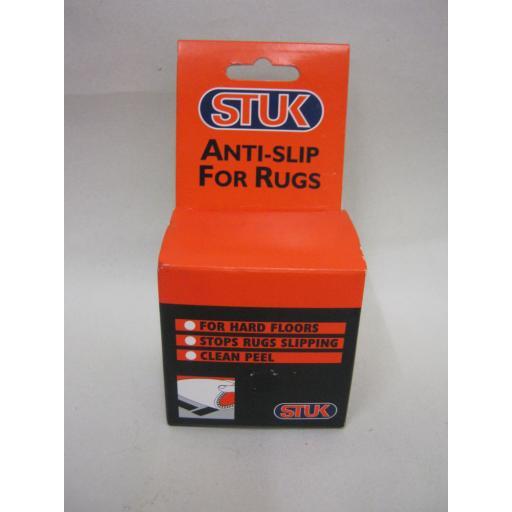 New Stuk Anti Slip Rug Tape For Hard Floors 50mm 5 metres
