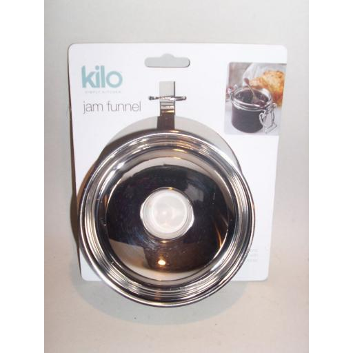 New Kilo Stainless Steel Jam Funnel Preserving Jars P24