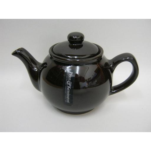 New Price And Kensington Small Pot Teapot 2 Cup Dark Brown 0056.715