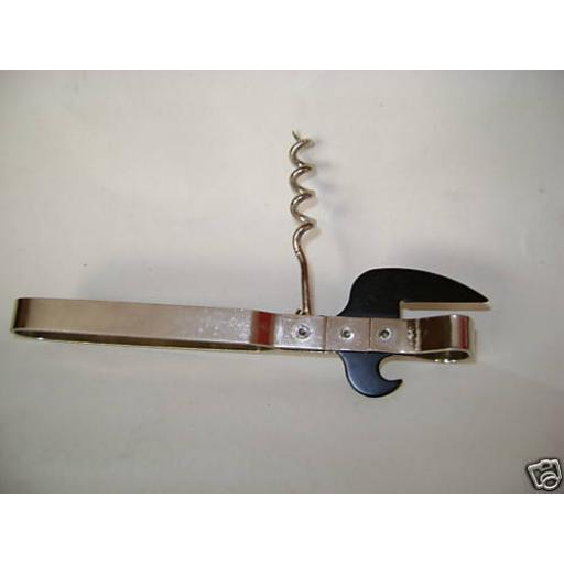 New Traditional Stab in Can Crown Bottle Cork Screw Opener