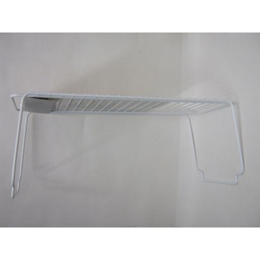 New Metaltex Bridge White Plastic Coated Wire Stackable Shelf Cupboard 360500