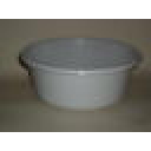 "New Lucy Granite Grey Small Round Plastic Washing Up Bowl 28cm 11"" Slight Second"