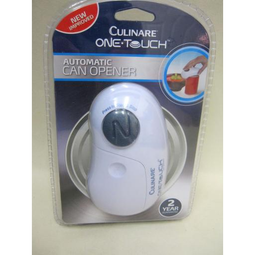 New DKB Culinare One Touch Automatic Battery Can Opener C50600 New Design