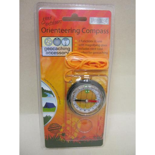 New Boyz Toys Orienteering Compass With Magnifying Glass RY439