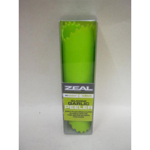 New CKS Zeal Silicone Garlic Peeler Ripper Lime Green J226