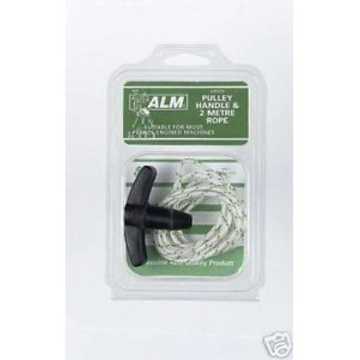 New ALM Petrol Engine Starter Handle & String Pully GP033