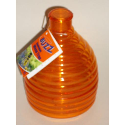 New Buzz Outdoor Wasp Honeypot Trap Killer Orange STV368