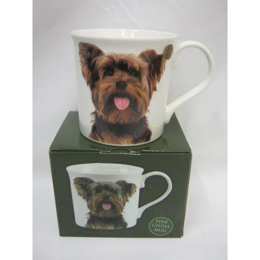 New Fine China Mug Beaker Coffee Tea Cup Yorkie Yorkshire Terrier LP92581