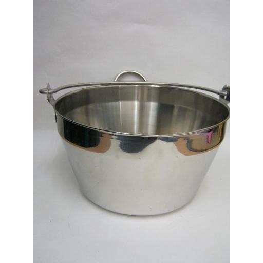 New Judge Stainless Steel Jam Preserving Making Maslin Pan 8 Litre 5 Pints JA74