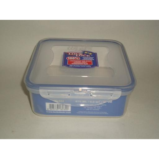 New Lock and & Lock Square Food Container HPL823 870ML