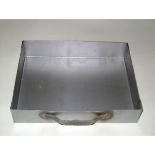 New Melton Steel Ashpan For Traditional Coal Grate Ash Pan For 16in Opening Fire