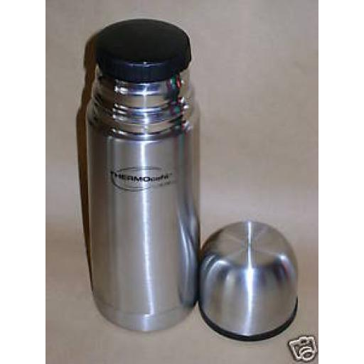 New Thermos Thermocafe Stainless Steel Flask 0.35ltr