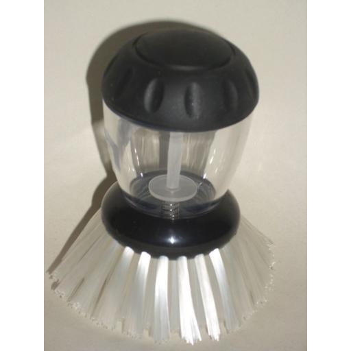 New Judge Black Dish Brush Washing Wash Up Liquid TC137