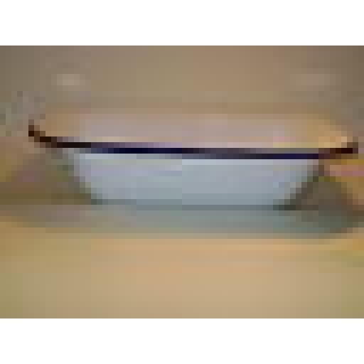 New Falcon Enamel White Oblong Pie Baking Dish Tin 30cm