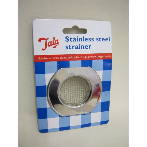 New Tala Stainless Steel Sink Bath Basin Strainer 24420