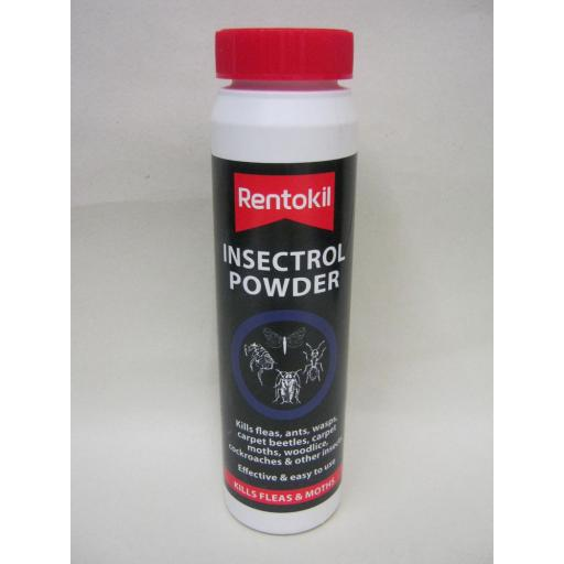New Rentokil Insectrol Powder Kills Fleas Ants Carpet Beetles Other Insects 150g