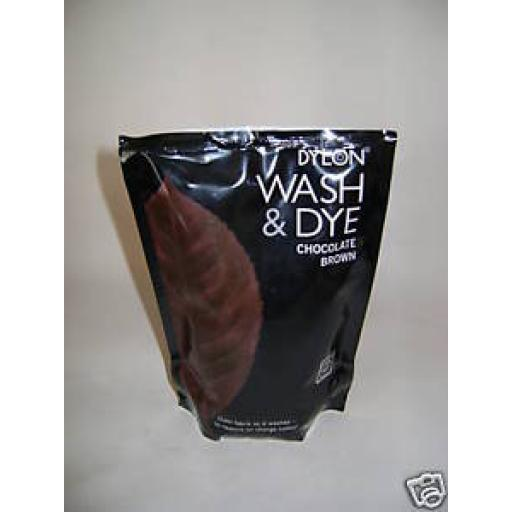 New Dylon Wash & Dye Chocolate Brown Machine Dye Pouch