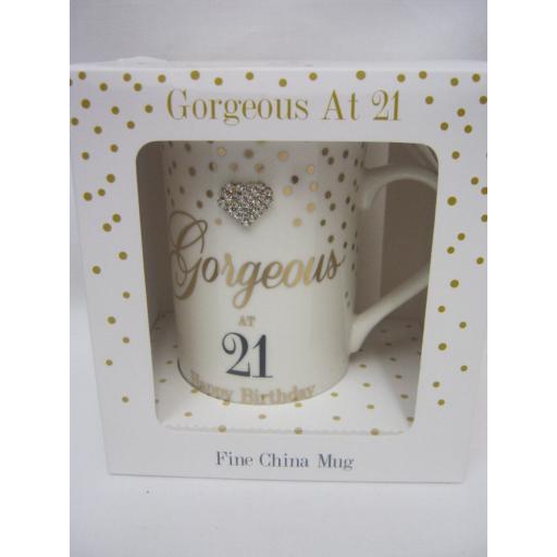 New Lesser And Pavey Fine China Mug Coffee Tea Diamante Gorgeous At 21 LP33698