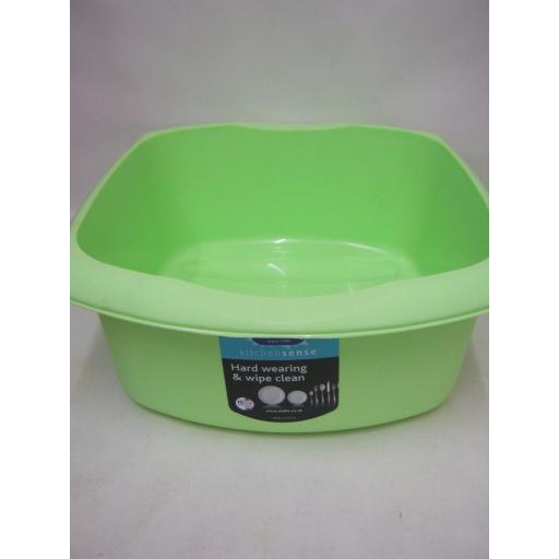 New Addis Oblong Plastic Washing Up Bowl 38cm 15 Inch Mint Green