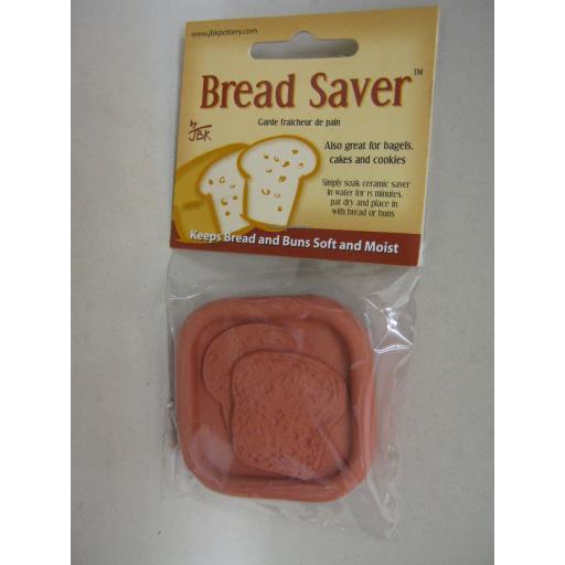 New Pot Bread Saver Disc 6cm x 6cm Keeps Bread Cakes Bagels Buns Moist