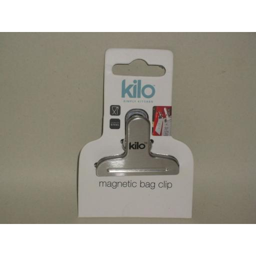 New Kilo Stainless Steel Magnetic Bag Clips Small BA124