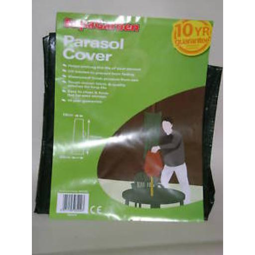 New Garden Parasol Cover Green Standard Size