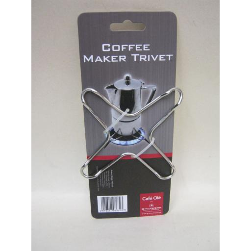 New Grunwerg Stove Cafetiere Coffee Maker Trivet T4287/C