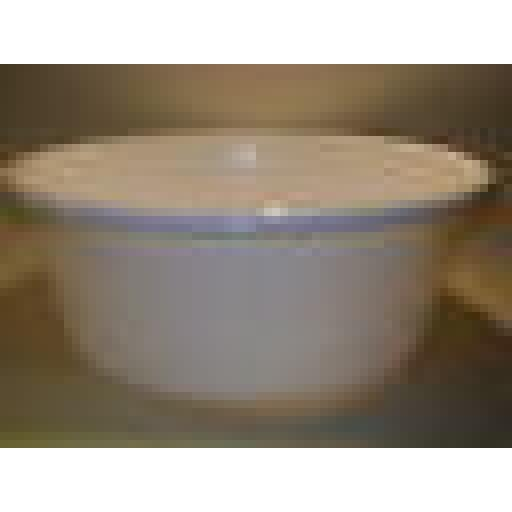 "New Lucy White Small Round Plastic Washing Up Bowl 28cm 11"" Slight Seconds"