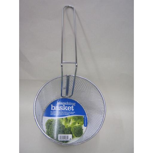 New Kitchen Craft Tinned Wire Blanching Basket KCBLANCHING