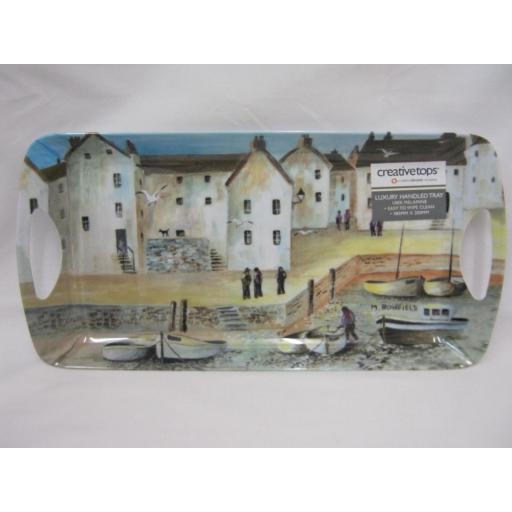 New Creative Tops Small Snack Sandwich Handled Tray Cornish Harbour 5169624