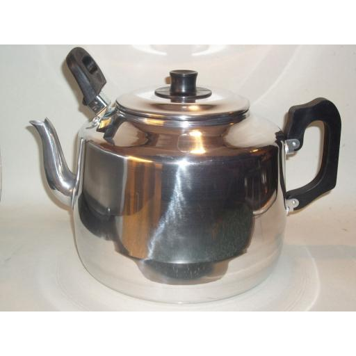 New Pendeford Traditional Metal Catering Teapot 8 Pints 4.5 Litres Tea Pot