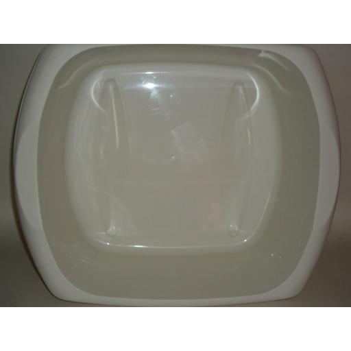 New Addis Linen Oblong Plastic Washing Up Bowl 38cm 15 Inch