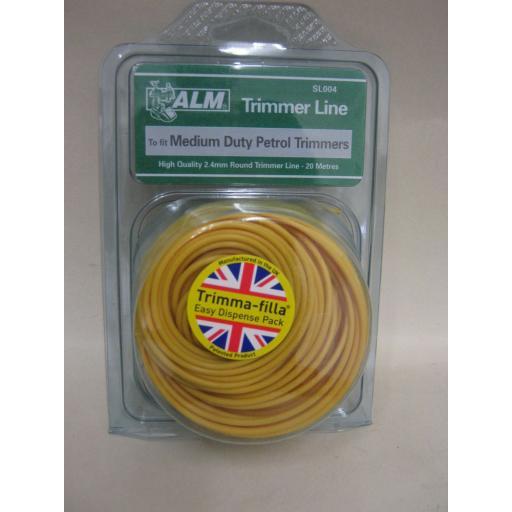 New ALM Medium Duty Petrol Strimmer Trimmer Cutting Line Cord SL004