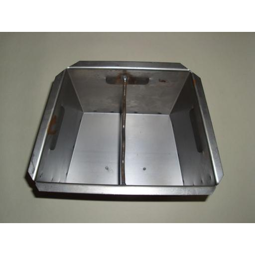 New Replacement Lift Out Ashpan For Baxi Burnall Coal Fire 16in Ash Pan