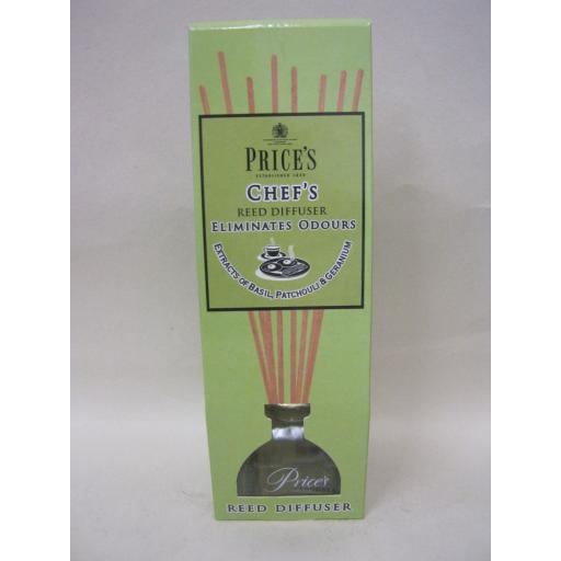 New Prices Candles Reed Diffuser Fragrance Chef's