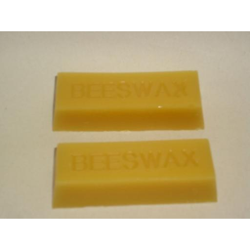 New Cambridge Traditional Products Pure Golden Beeswax Sticks Pk2 60gm
