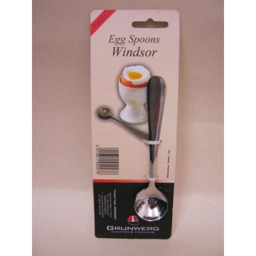 New Windsor Stainless Steel Boiled Egg Spoons Spoon Pk 2 2EGSWSR/C