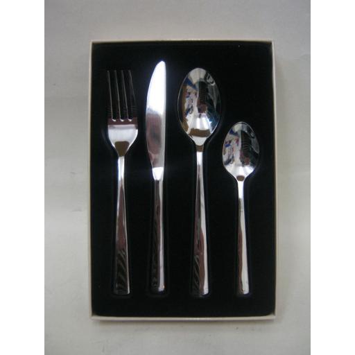 New Grunwerg Childs Childrens Cutlery 4 Piece Set Westminster Design
