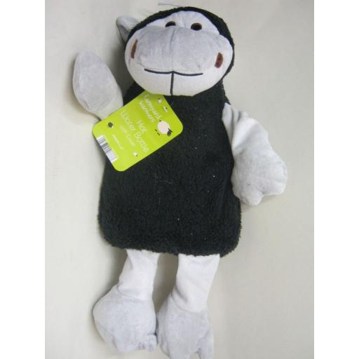 New Covered Hot Water Bottle Cover Design Black Sheep
