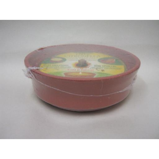 New Prices Citronella Tealight Candles Fragranced Large Terracotta Pot