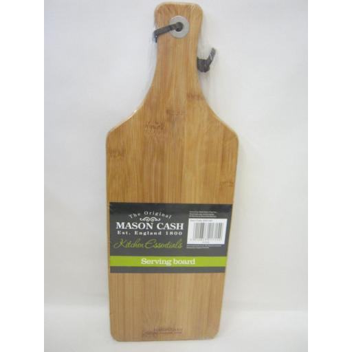 New Mason Cash Kitchen Essentials Wood Serving Board 2007.340