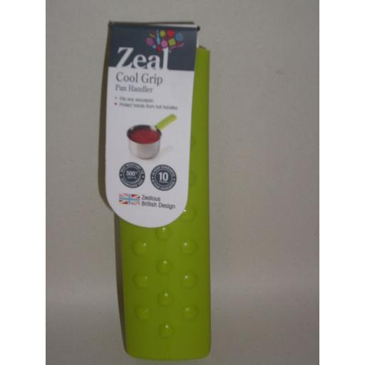 New Cks Zeal Silicone Cool Grip Pan Handler Handle Grab Cover Lime Green J232