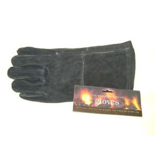 New Manor Fireside Coal Wood Stove Black Gloves